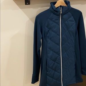 FILA Tru-Warm Turquoise Puffer/Athletic Material